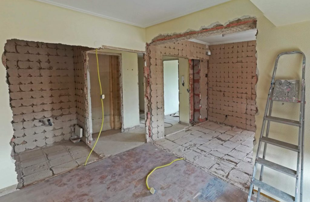 Foto de reforma de vivienda de segunda mano